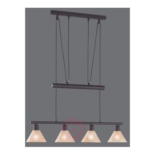 Trio leuchten Lampa wisząca zug, regulowana wysokość, 4-punktowa (4017807181081)