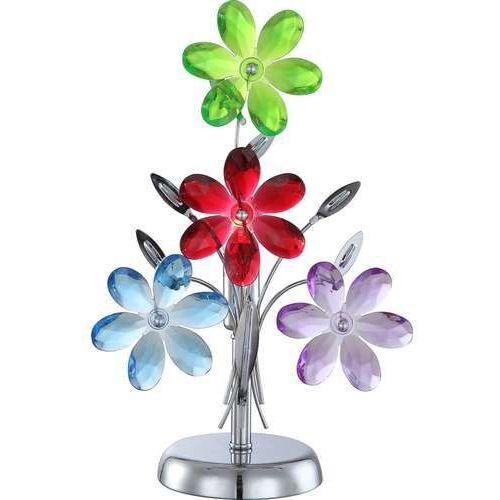 Globo 51530-1t - lampa stołowa dekoracyjna rainbow 1xe14/40w/230v