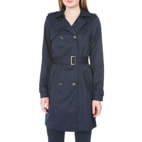 Vila Three Trench Coat Niebieski S
