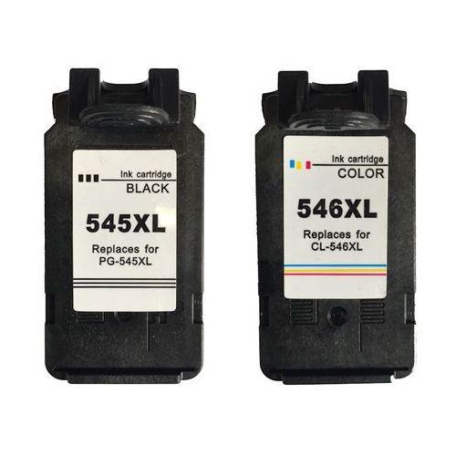 Canon 2 x tusz: Black PG-545XL, PG545XL + Color CL-546XL, CL546XL, 8286B006, PG-545XL CL-546XL