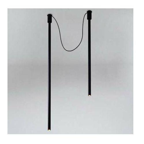 LAMPA sufitowa ALHA Y 9002 Shilo tuby OPRAWA downlight sople czarne (5903689990028)