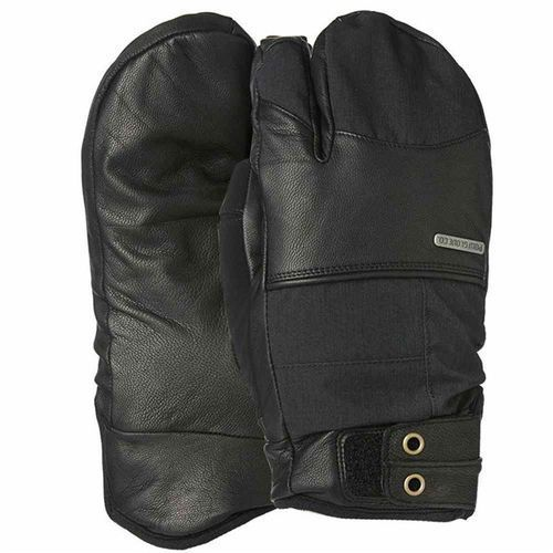 Pow Rękawice snowboardow - tanto trigger mitt black (long) (bk)