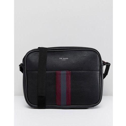 kestral messenger bag with webbing - black marki Ted baker