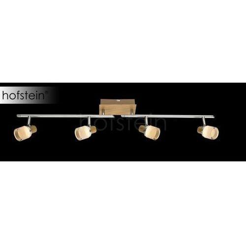 Globo lampa sufitowa led brązowy, 4-punktowe - - obszar wewnętrzny - alonis - czas dostawy: od 6-10 dni roboczych marki Globo lighting