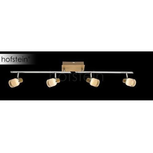 Globo lampa sufitowa led brązowy, 4-punktowe - nowoczesny/dworek - obszar wewnętrzny - alonis - czas dostawy: od 6-10 dni roboczych marki Globo lighting