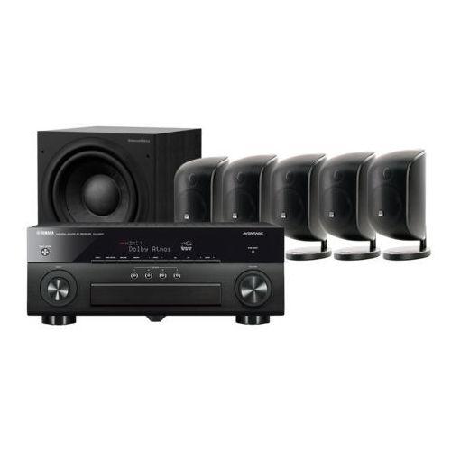 Yamaha MusicCast RX-A880 + 5 x M-1 + ASW 608