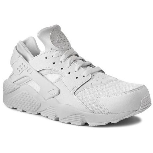 Nike Buty - air huarache 318429 111 white/white/pure platinum