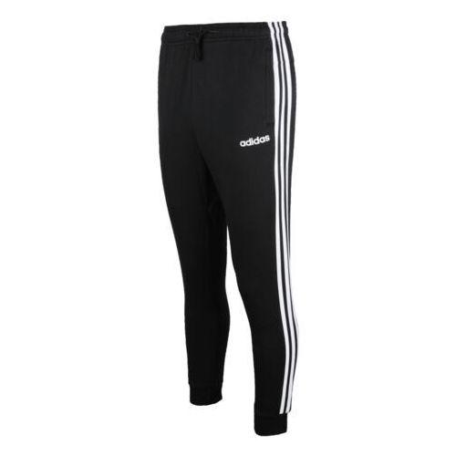 Adidas Spodnie męskie essentials 3 s tapered pant fl czarne dq3095 (4060515441367)