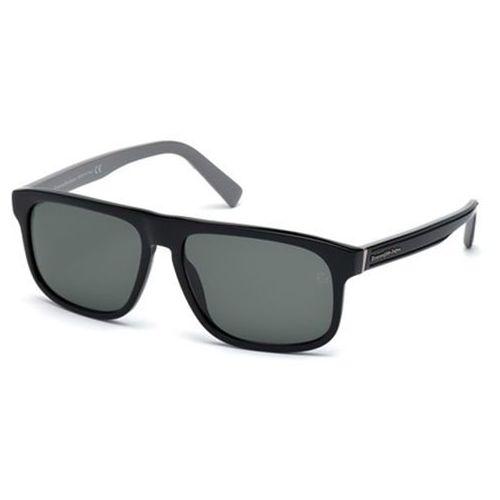 Okulary Słoneczne Ermenegildo Zegna EZ0003 Polarized 01R