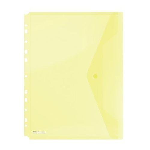 Donau Teczka na zatrzask wpinana - żółta