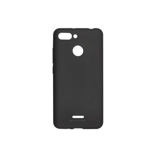 Xiaomi redmi 6 - soft feeling - czarny marki Mercury goospery