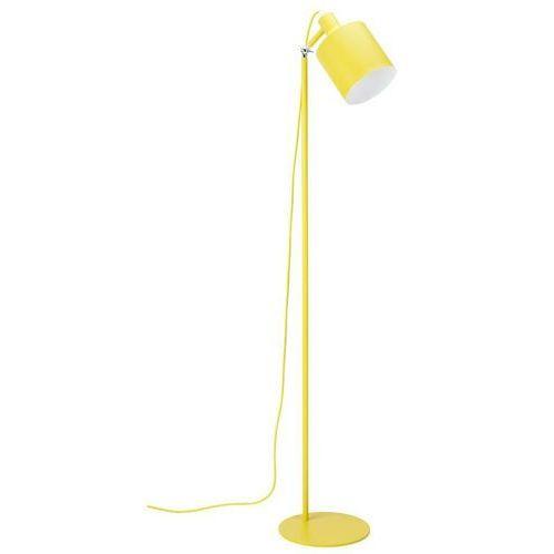 Sofa.pl Lampa podłogowa lektor żółta - aluminium