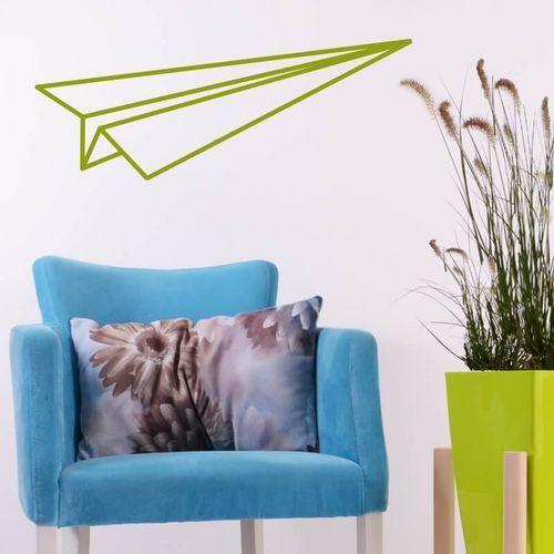 Wally - piękno dekoracji Szablon do malowania samolocik origami 2473
