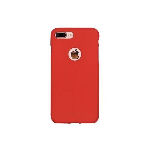 Apple iPhone 7 Plus - etui na telefon Mercury Goospery Soft Feeling - czerwony, ETAP417GMSFRED000