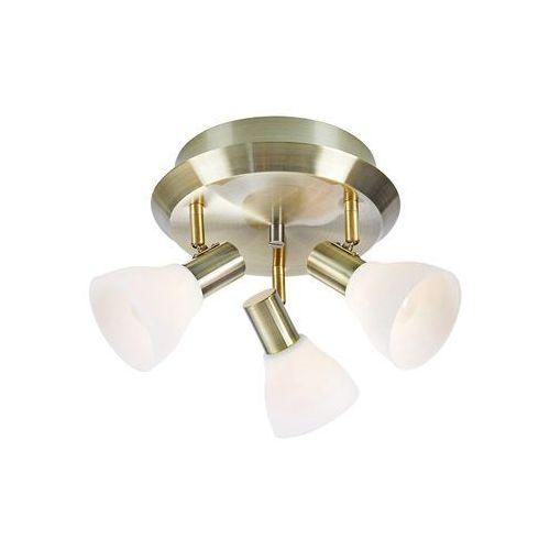 Markslojd Vero 107506 Plafon spot oprawa sufitowa 3x40W E14 patyna/biały, 107506
