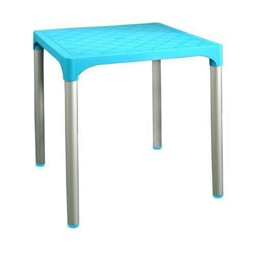 MEGA PLAST stół MP1351 VIVA, jasnoniebieski, kolor niebieski