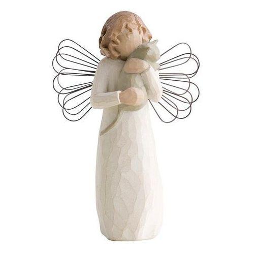 Willow tree Z pomocą miłości anioł z kotkiem with affection 26109 figurka ozdoba świąteczna