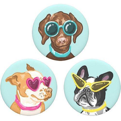Uchwyt i podstawka POPSOCKETS do telefonu (Posh Pups) (0842978131849)