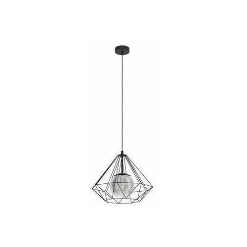 Eglo vernham 43481 lampa wisząca zwis 1x40w e27 czarna