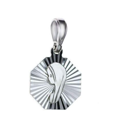 medalik ,srebro satynowane 925