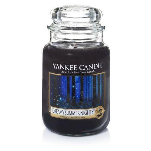 Yankee candle dreamy summer night 623g duża świeca szybka wysyłka infolinia: 690-80-80-88