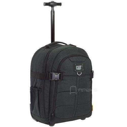 harry torba podróżna / mała walizka kabinowa 20/48 cm cat / black - black marki Caterpillar