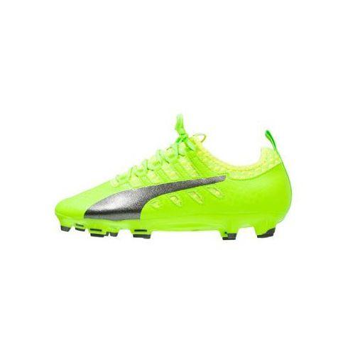 Puma EVOPOWER VIGOR 2 FG Korki Lanki green gecko/black/safety yellow, towar z kategorii: Piłka nożna