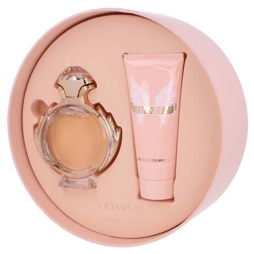 Paco rabanne  olympea w zestaw perfum edp 80ml + 100ml balsam (3349668528790)