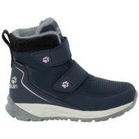 Buty dla dzieci zimowe POLAR WOLF TEXAPORE MID VC K dark blue / off-white - 34