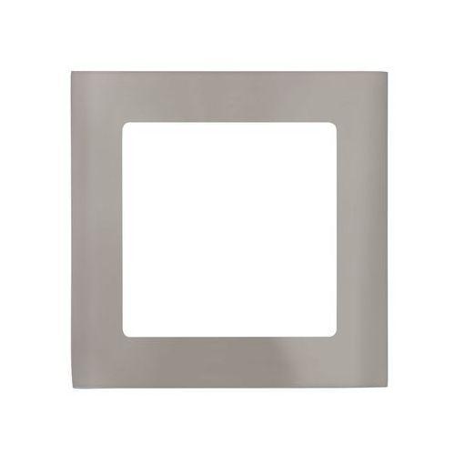 Oczko LAMPA sufitowa FUEVA 1 94522 Eglo podtynkowa OPRAWA ścienna LED 5,5W kwadratowy wpust IP20 nikiel satynowany, 94522