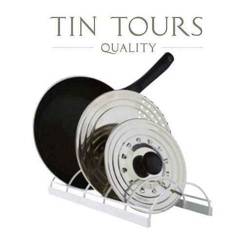 Stojak na pokrywki i patelnie marki Tin tours