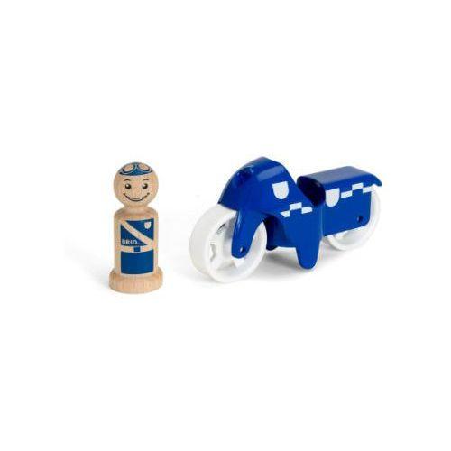 Brio ® Motor policyjny 30336 - niebieski