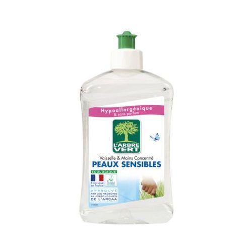 L'ARBRE VERT 500ml Peaux Sensibles Hipoalergiczny płyn do mycia naczyń Liquide Vaisselle
