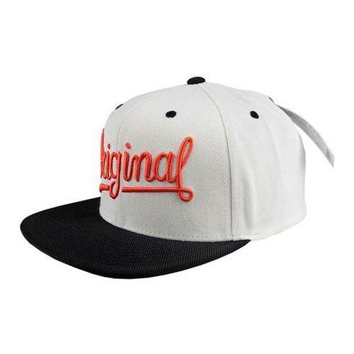 czapka KREW - Original 4 Snap Off White (OWT) rozmiar: OS, kolor biały