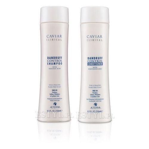 caviar clinical dandruff control - zestaw: szampon i odżywka 2x250ml od producenta Alterna