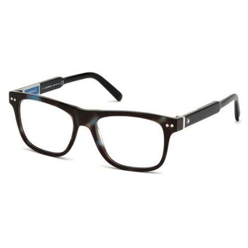 Mont blanc Okulary korekcyjne mb0704 056
