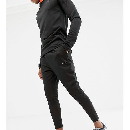 Asos 4505 tall skinny tapered joggers with bonded tech inner fleece - black
