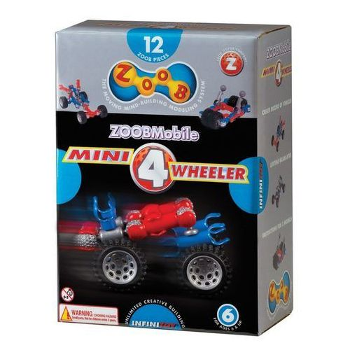 ZOOB Klocki Mobile Mini 4 Wheeler