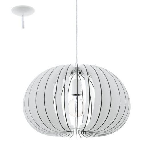 Eglo Lampa wisząca cossano śr. 45 cm - biała, 94442
