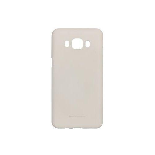 Samsung galaxy j5 (2016) - etui na telefon soft feeling - beżowy marki Mercury goospery