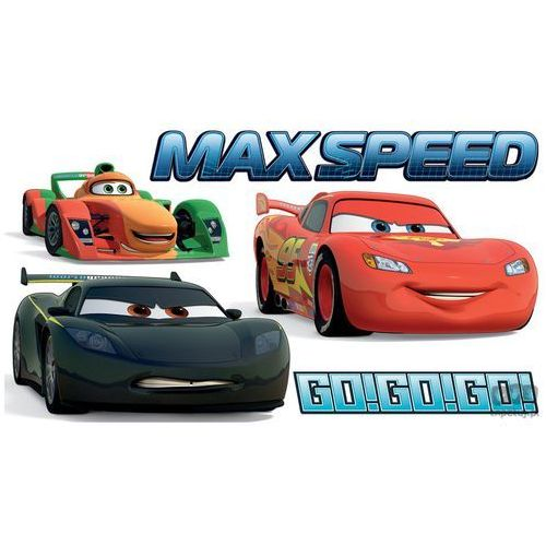 Consalnet Naklejka cars max speed spd23ws