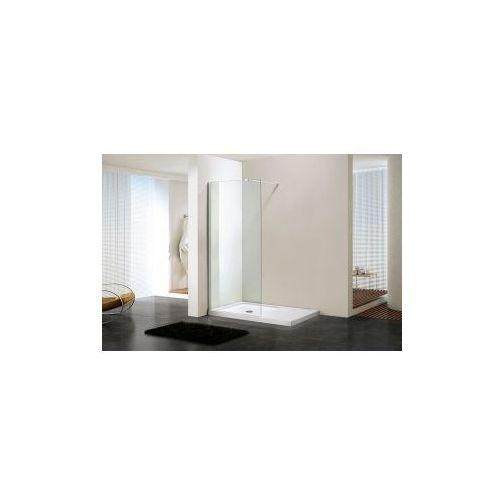 MASSI Ścianka Walk-In 110x195, szkło transparentne + powłoka EasyClean MSKP-FA1021-110, MSKP-FA1021-110