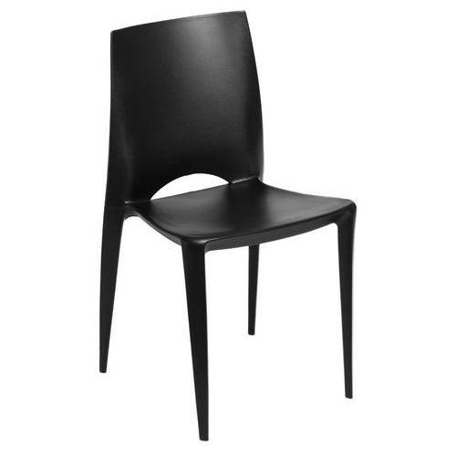 Krzesło Bee czarne, kolor czarny