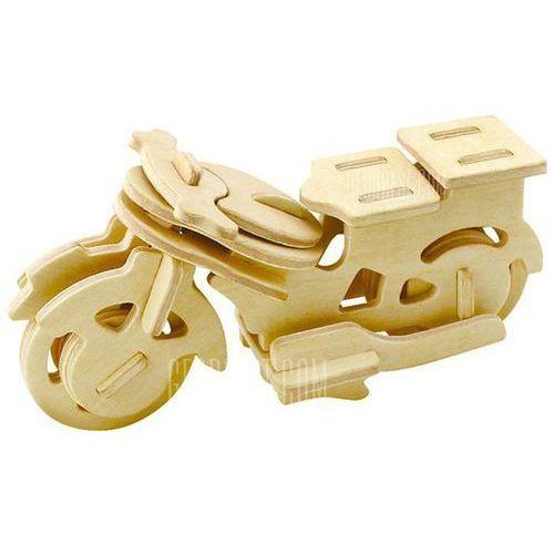 Robotime Motorbike 3D Jigsaw Puzzle Woodcraft Assemble Toy Educational Game Kids Gift - sprawdź w wybranym sklepie