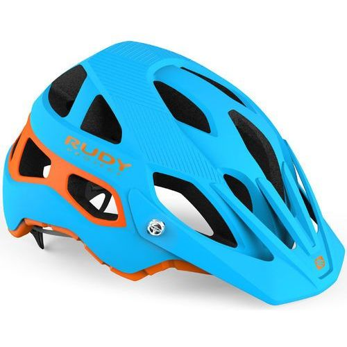 Rudy Project Protera Kask rowerowy niebieski/turkusowy S-M | 54-58cm 2019 Kaski rowerowe