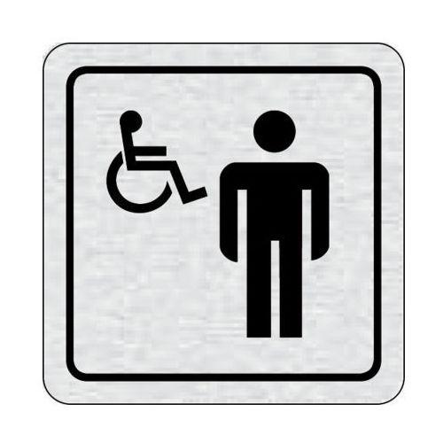 B2b partner Tabliczka na drzwi -wc dla niepełnosprawnych mężczyzn