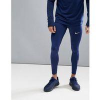 Nike Running Power Tech Tights In Blue 857845-430 - Blue, w 4 rozmiarach