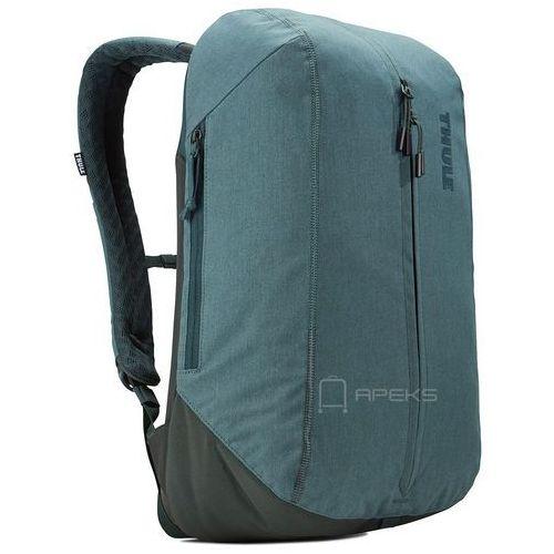 "Thule Vea 17L plecak miejski na laptopa 15"" / Deep Teal - Deep Teal, kolor zielony"