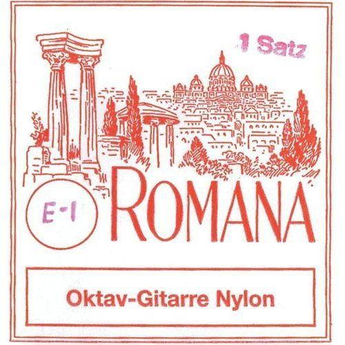 Romana (659217) struny do gitary oktawowej - komplet stal