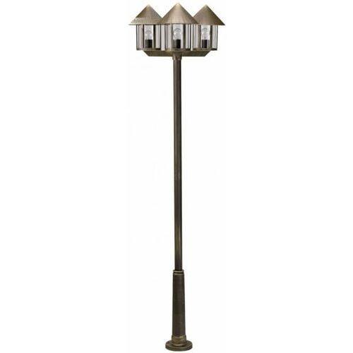 Maszt oświetleniowy LAMPIONE 3-punktowy brązowy